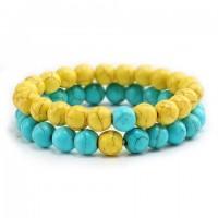 Style: Yellow & Sky Blue