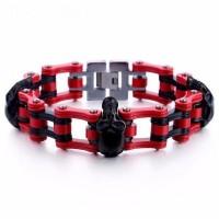 Thick Chain Skull Embed Bracelet [9 Variants]