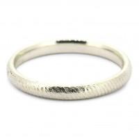 Handmade Gold Unisex Rope Ring [2mm]