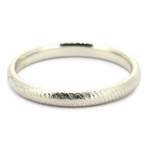 Handmade Sterling Silver Unisex Rope Ring [2mm]