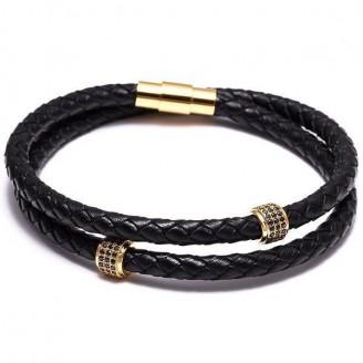 Multi-layer Velvet Leather Bracelet [Two Variants]