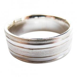 Handmade Sterling Silver Men's Wedding Band [10mm]
