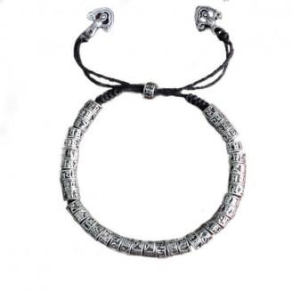 Traditional Antiqued Tibetan Buddhism Bracelet