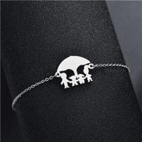 Adjustable Stainless Steel Family Bracelet [4 Variations]