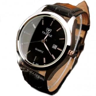 Vintage Leather Business Wristwatch [4 Variants]
