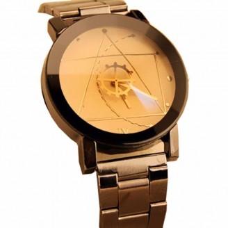 Clockwork Stainless Steel Quartz Watch [4 Variants]