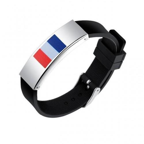 Support France Adjustable Bracelet