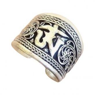 Tibetan Mantra Thumb Ring