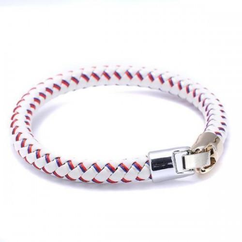 Team Russia Braided Flag Bracelet