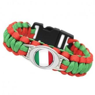 Team Italy Paracord Flag Bracelet