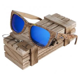 Rustic Lamina Bamboo Wooden Sunglasses
