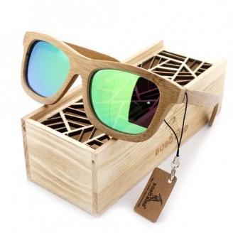 Asper Bamboo Wood Sunglasses [6 Variants]