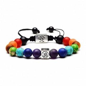7 Chakra Tree Of Life Charm Bracelet [2 Variants]