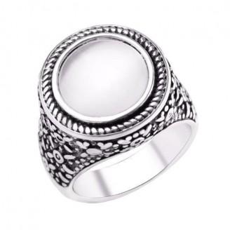 Vintage White Opal Ring