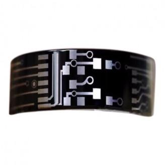 Black Circuit Board Design Tungsten Carbide Ring