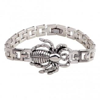 Stainless Steel Spider Bracelet
