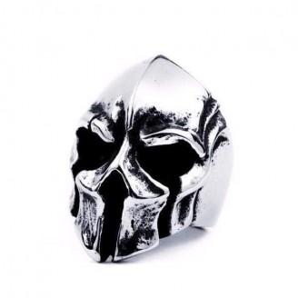 Enormous Biker Skull Stainless Steel Ring