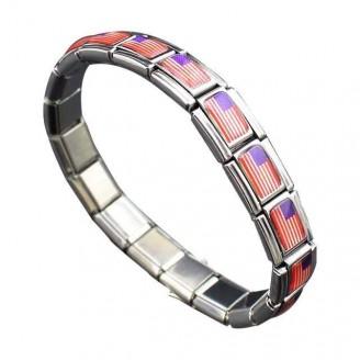 Support America Stainless Steel Bracelet