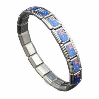 Support Australia Stainless Steel Bracelet