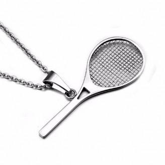 Tennis Racket Charm Necklaces [2 Variants]