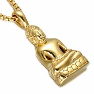 Siddhartha Gautama Buddha Charm Necklaces [2 Variants]