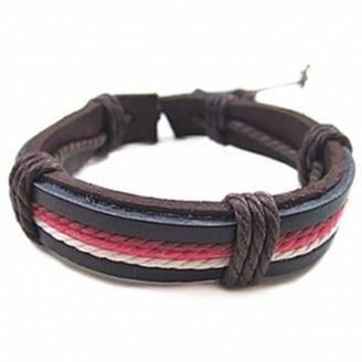 Retro Punk Leather Bracelets [4 Variants]