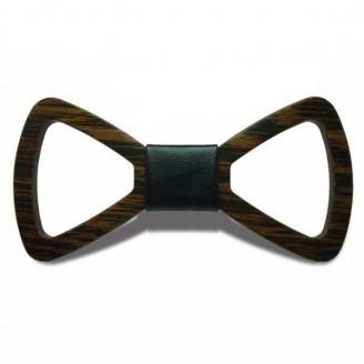 Silky Petal Wooden Bow Tie [15 Variants]