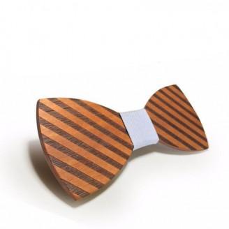 Sahara Stripes Wooden Bow Tie [12 Variants]