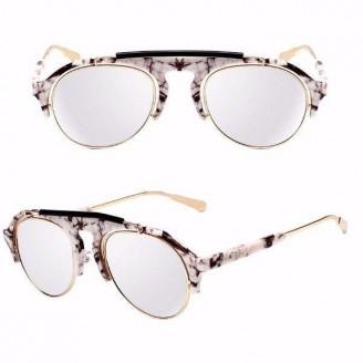 Corchia Supremo Aviatore Marble Design Sunglasses [6 Variants]