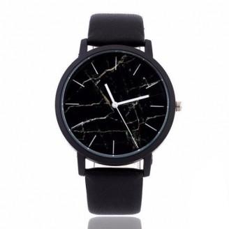 Emperador Marble Deluxe Leather Watch