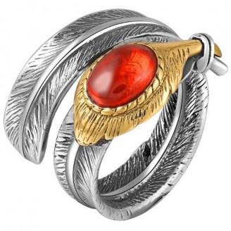 Oxblood Taffeta Luxury Silver Ring [2 Variants]