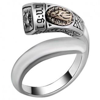 Mount Carmel Luxury Silver Ring