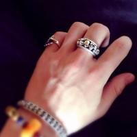 Crania Anatomia Luxury Silver Ring