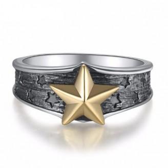 Lyr Altair Vega Silver Ring