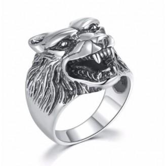 Adolphus Maximus Spirit Silver Ring