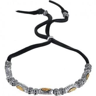 La Sagrada Nuestra Señora Adjustable Silver Bracelet