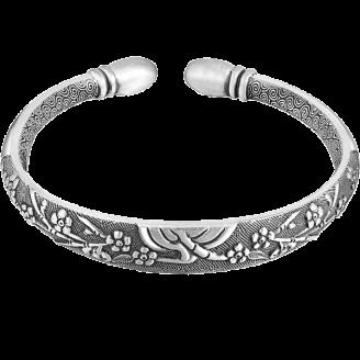 Lushberry Bloom Luxury Silver Bracelet