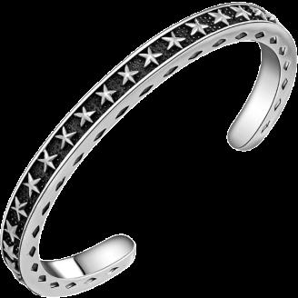 Queen Cassiopeia Diamond Silver Bracelet