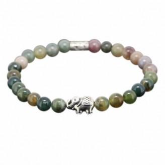 Sparkling Chartreuse Elephant Healing Bracelet [2 Variants]
