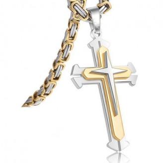 Monarchs Pattee Christian Cross Necklace [3 Variants]