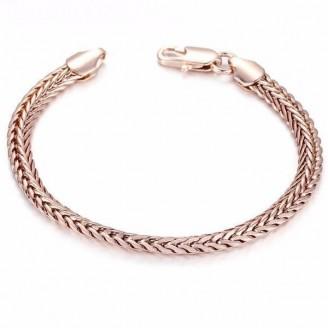 Braided Foxtail Chain Bracelet [3 Variants]