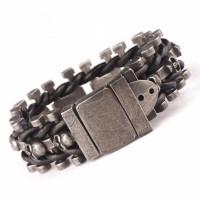 Skeleton Chain Buckle Bracelet