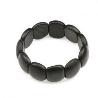 Healing Bian Stone Pebble Bead Bracelet