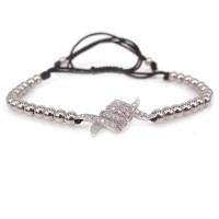 Micro Pave Eagle Claw Macrame Bracelet [16 Variants]