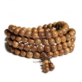 African Wenge Wood Mala Beads