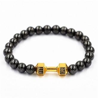 Dumbbell Bracelet and strength Beads [18 Variants]