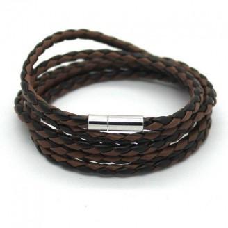 5 Laps Unisex Leather Bracelet [10 Variants]