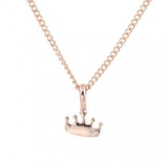 Golden Princess Crown Choker Necklace