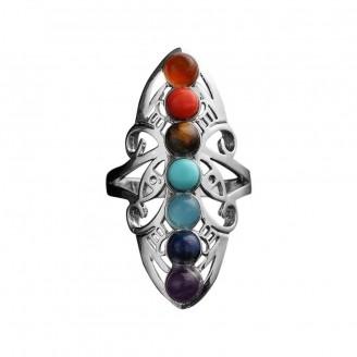 Reiki Stones Adjustable Ring