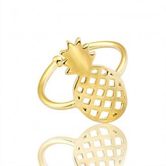 Golden Pineapple Toe Ring [3 Variants]